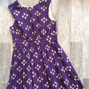ModCloth Emily & Fin Too Much Dress Size Small